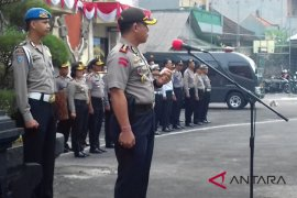 Pascapenembakan polisi, Kapolres Badung perintahkan anggotanya waspada