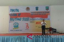 KLHK ajak masyarakat Belitung jaga kebersihan pesisir