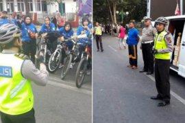 Polantas ajak masyarakat gunakan sepeda untuk beraktivitas