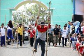 Pemprov Lampung Menggelar Senam Massal HUT Ke-73 RI tahun 2018
