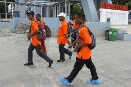 Siswa SMN Papua nyumbang korban gempa Lombok