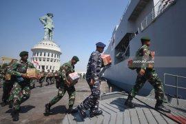 TNI Kirim Bantuan Gempa Lombok