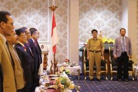Rombongan Diklat Pim Provinsi Jawa Timur Kunjungi Lampung