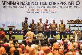 Wakil Presiden Jusuf Kalla buka Kongres ISEI XX