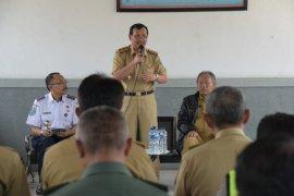 Pembebasan lahan Kereta Api Jalur Ganda Bogor-Sukabumi dipercepat