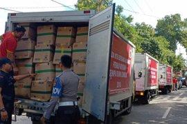 Alfamart Kirim Bantuan Korban Gempa Lombok
