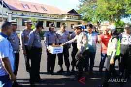 Polres MTB galang dana korban gempa Lombok