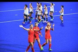 Tim hoki putri gabungan Korea gagal masuk kualifikasi Olimpiade Tokyo