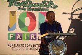 Ribuan lowongan kerja tersedia job fair Pontianak