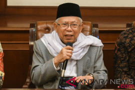 Ma'ruf Amin: Saya Masih Muda Dibandingkan Mahathir Mohamad