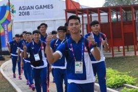 Kontingen peserta Asian Games mulai tempati Wisma Atlet Kemayoran