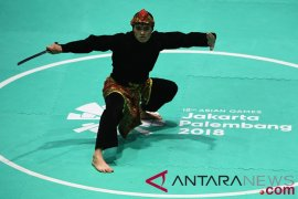Sugianto raih emas pencak silat kesembilan untuk Indonesia