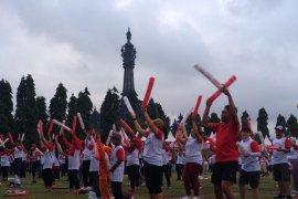 Ribuan peserta ikuti Jalan Sehat 5-K BUMN di Bali (video)