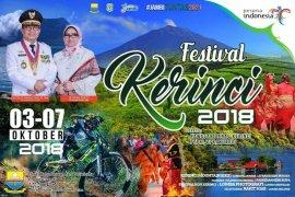 Festival Kerinci digelar 3-7 Oktober 2018