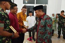 Baznas Bangka berikan penghargaan kepada UPZ terbaik