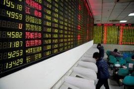 Bursa saham China naik