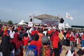 Ribuan masyarakat Babel hadiri deklarasi Seknas Jokowi