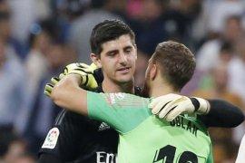 Derby Madrid berakhir imbang tanpa gol