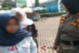 Dua siswi diamankan SatpolPP di  Taman Hijau Balangan