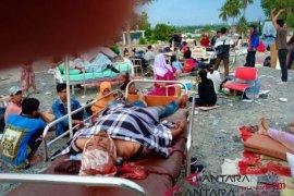 Pangkalan Utama TNI AL VI/Makassar kerahkan pasukan ke Palu