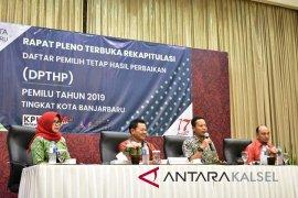 KPU Tanah Bumbu tetapkan 215.574 DPT