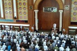 Ma'ruf Amin minta dukungan jamaah Masjid Az-zikra