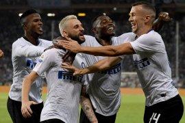 Inter raih kemenangan dramatis, banyak gol dianulir sampai Spalletti diusir wasit