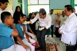 Pemberian Vaksin  MR di Paser baru  capai 29 persen