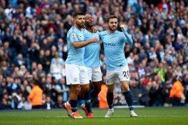 Manchester City ke puncak klasemen usai tundukkan Brighton