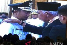 Abdul Gafur-Hamdam resmi jabat Bupati-Wabup Penajam