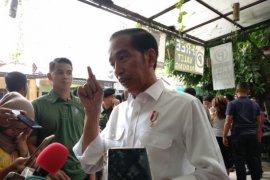 Presiden Jokowi minta wartawan jadi pencegah hoaks