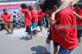 Polrestabes Surabaya Ungkap 275 Kejahatan Jalanan