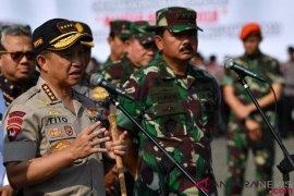 Pimpinan TNI-Polri gelar rapat bahas pengamanan Pemilu 2019