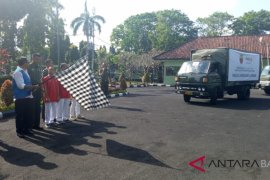 Kodam Bukit Barisan-Korem 163/Wirasatya bantu gempa Lombok