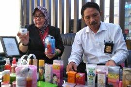 Balai BPOM Pontianak sita 4.198 kosmetik ilegal