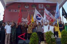 Bali deklarasi damai jelang pilpres (video)