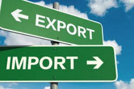 South Kalimantan exports downs, imports rises