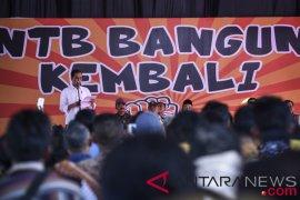 Presiden tinjau langsung penanganan pascagempa di Lombok