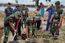 Korem 045/Garuda Jaya tanam 3.500 pohon di Pangkalpinang