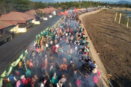 Pembukaan Festival Pesona Danau Limboto Semarak