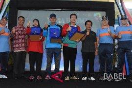 SMK Negeri 1 Sungailiat juara umum O2SN
