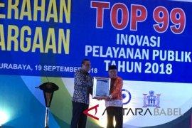"""""""Simpanan Cantik"""" Kabupaten Bangka raih penghargaan Kemenpan-RB"""