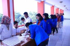 Universitas Pancasila lakukan tes urine bagi mahasiswa baru