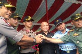 Wakapolri saksikan simulasi pengamanan pemilu di Bangka Belitung