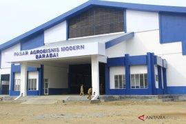 Akhir Oktober, pedagang harus pindah ke pasar Agrobisnis Barabai