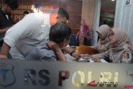 2 Ambulans tiba, total 18 kantung jenazah Lion Air JT 610
