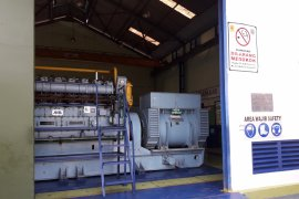 Pembangkit diesel Maburai Tabalong gunakan solar
