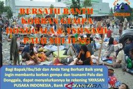 YPI buka donasi gempa dan tsunami Palu