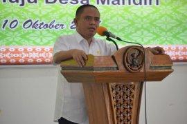 Wabup Effendi ajak warga Desa Padang berperilaku bersih dan sehat