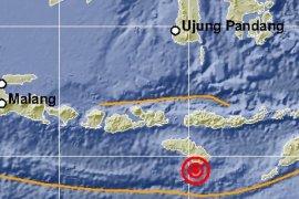 Empat kali gempa tektonik guncang Sumba timur